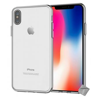 coque apple blanche iphone x
