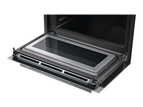 Siemens iQ700 CM636GBS1 - Four combiné - intégrable - niche - largeur : 56 cm - profondeur : 55 cm - hauteur : 45 cm - avec système auto-nettoyant - acier inoxydable