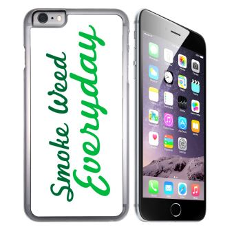 Coque pour iPhone 6 Plus et iPhone 6S Plus smoke weed everyday