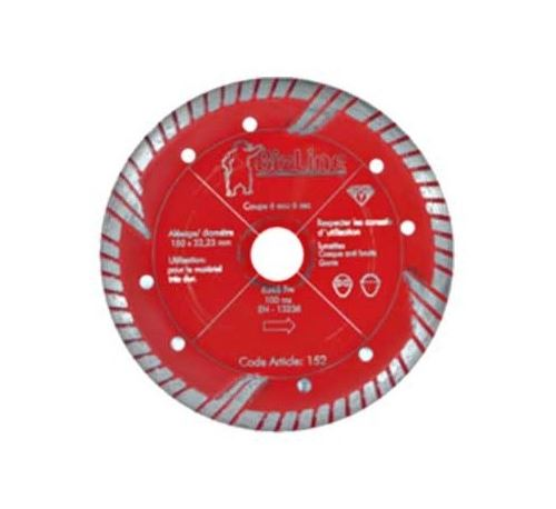 Disque diamant rouge - Ø 125mm