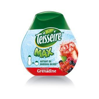 Sirop et concentré Sodastream Teisseire Max Grenadine 66ml