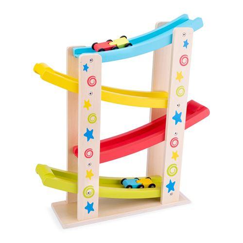 New Classic Toys - 10540 - Circuit De Motricité - Zip Zap Avec Voitures - Etoiles