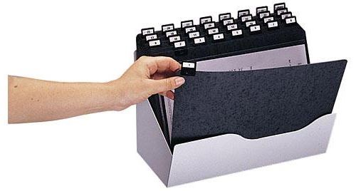 rexel rexel trieur valbox, en métal, 215 x 320 mm, gris clair noir