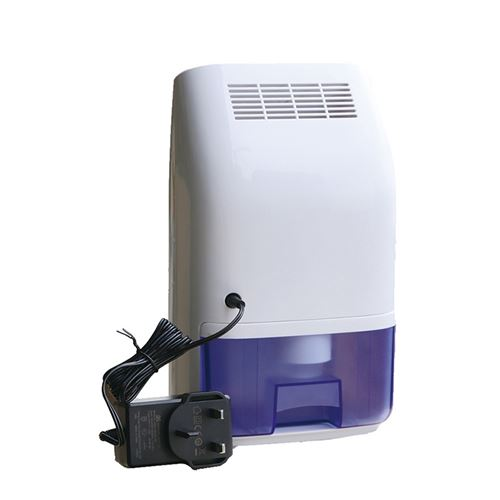 Déshumidificateur ATOUP HW-T8 23 W silencieux évacuation continue 400 mL/24 H idéal pièces 20 m² - Blanc et Violet