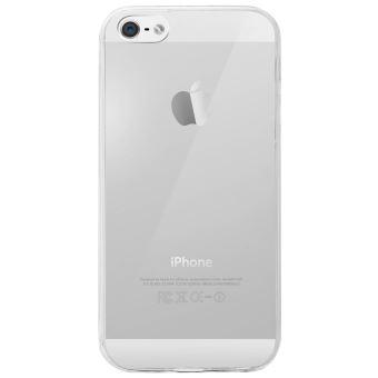 Coque iPhone 5 / 5S / SE Protection Intégrale Transparent - Avant Tactile