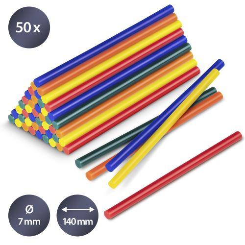 TROTEC Bâtonnets de colle de couleur (50 pces ø 7 mm)