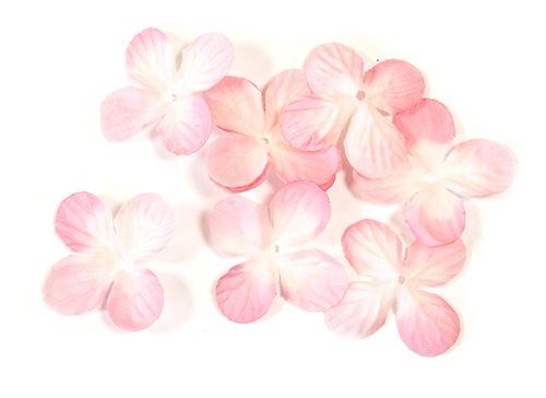 Lot de 240 pétales de fleurs en tissu Rose - 3 cm