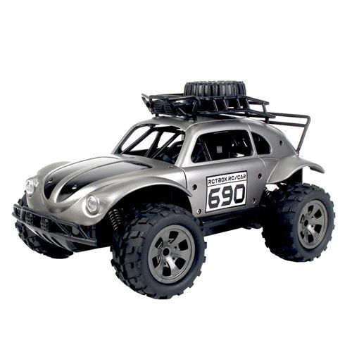 1:18 2.4G télécommande 2WD camion tout-terrain haute vitesse RTR RC jouet de voiture - Argent