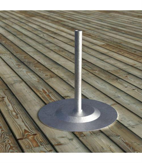 Accessoire acier galvanisé d'extérieur FUSE 35 Cm