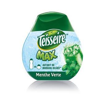 Sirop et concentré Sodastream Teisseire Max Menthe Verte 66 ml