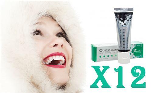 First White - 12 Dentifrices Blanchiment Dentaire De 30 Ml