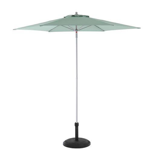 Parasol droit rond Anzio - Diam. 230 cm - Vert céladon