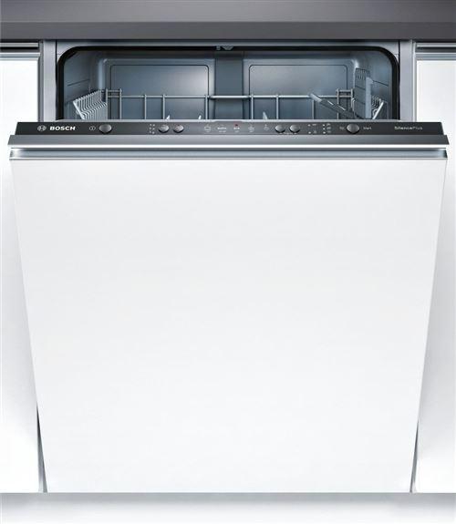 Bosch Serie | 4 SilencePlus SMV50D70EU - Lave-vaisselle - intégrable - Niche - largeur : 60 cm - profondeur : 55 cm - hauteur : 81.5 cm - noir