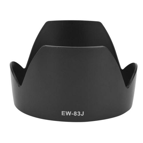 Remplacement du parasoleil avec monture ABS EW-83J pour Canon EF-S 17-55mm F / 2.8 IS USM