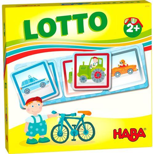 Haba jeu pour enfants Véhicules de loto
