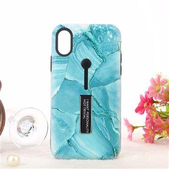 coque marbre bleu iphone xr