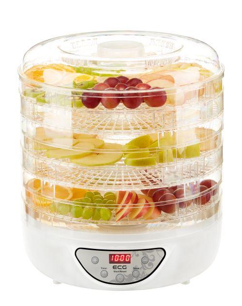 ECG SO 570 - Déshydrateur d'aliments - 5 niveaux - écran LED - minuterie