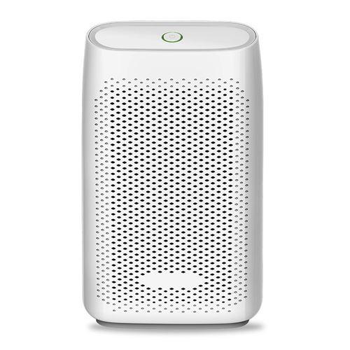 Déshumidificateur ATOUP, portable électrique silencieux évacuation continue 400 mL/24 H idéal pièces 20 m² Blanc