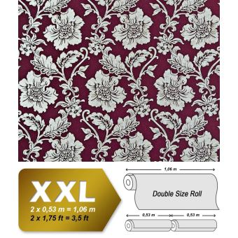 Papier Peint De Luxe Fleurs Intisse Xxl Edem 995 35 Aspect Florale