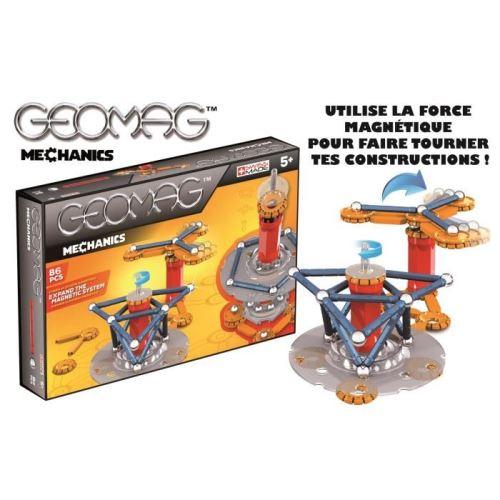 Geomag Mechanics Jeu De Construction Magnétique 86 Pieces