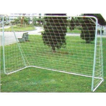 c6af234de6558 But de foot enfant avec cadre en metal - 240 x 90 x 150 cm - cage de  football blanche - Autre jeu de plein air - Achat & prix | fnac