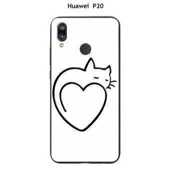 coque huawei p20 coeur