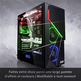 Megaport PC Gamer Premium Intel Core i7-8700 6x 4,60 GHz Turbo • GeForce  RTX2060 6Go • 16Go DDR4 • 480Go SSD • 1To • Windows 10 Unité centrale  ordinateur de ... 545ba3477026
