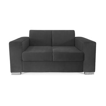 95412 sur myfaktory canap bas 2 places minimaliste relax jaune achat prix fnac - Canape Bas