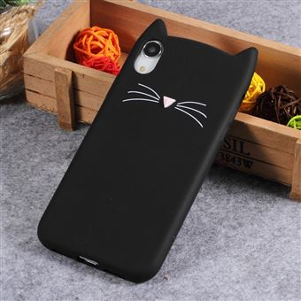 coque iphone xr chat silicone