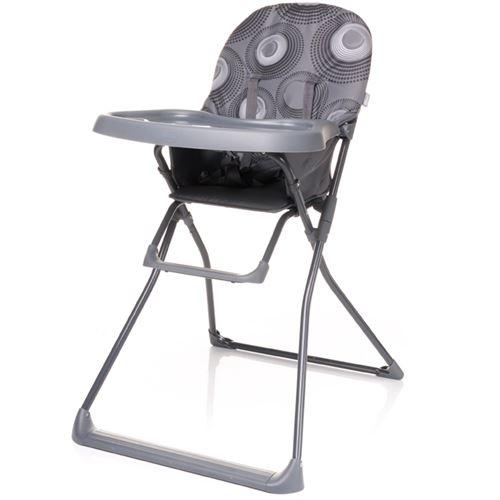 Chaise haute, pratique et légère HOWER | max. 15 kg | gris