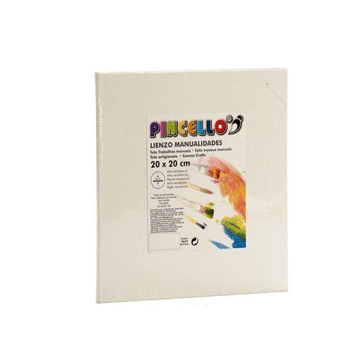 toile pincello blanc 20 x 30 cm