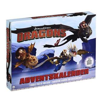 Calendrier De Lavent Allemand.Calendrier De L Avent Dragons Dreamworks Allemand