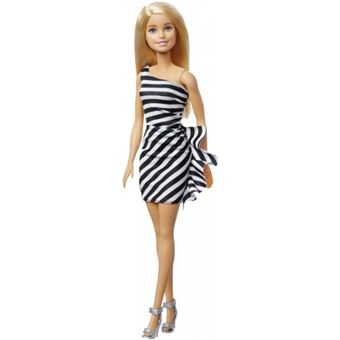 BARBIE poupées Inspiring Girlsadolescentes blondes 33 cm noir/blanc