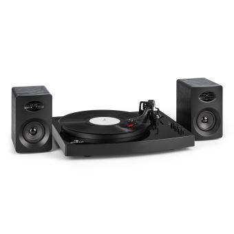 75 sur auna tt play set hifi platine vinyle 2 enceintes st r o 3 10w tourne disque 2. Black Bedroom Furniture Sets. Home Design Ideas