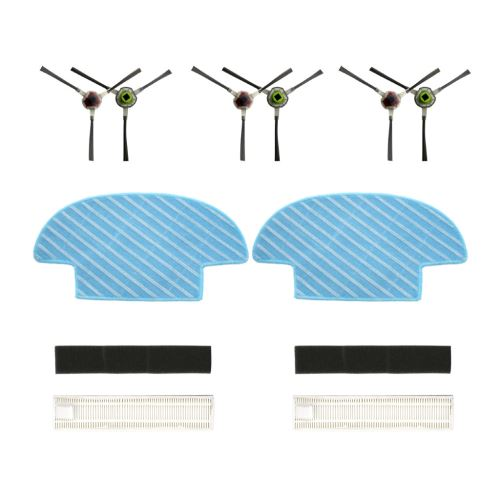 Pièces de rechange Bristle Brosse brosse latérale Mop Pour Ecovacs Slim Slim 2 Sweepers