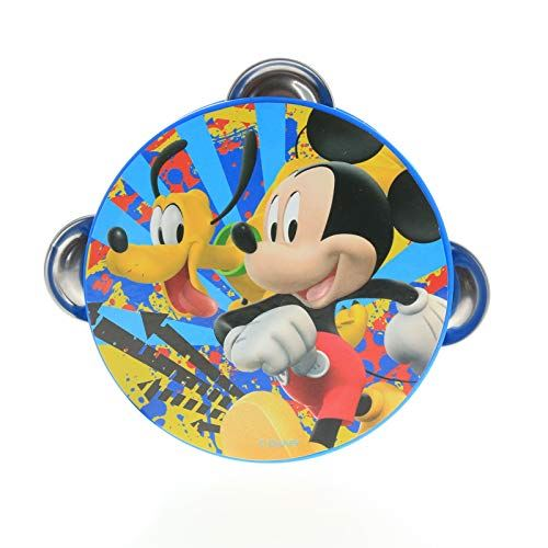 Disney Mickey Mouse Pretend Play Toy Tambourine