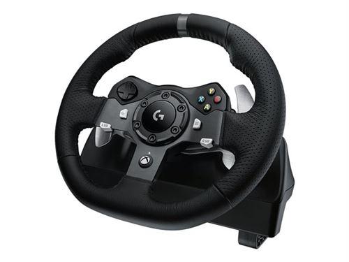 Logitech G920 Driving Force - Ensemble volant et pédales - filaire - pour Microsoft Xbox One