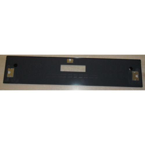 Glace bandeau noire pour four sauter - 4073394