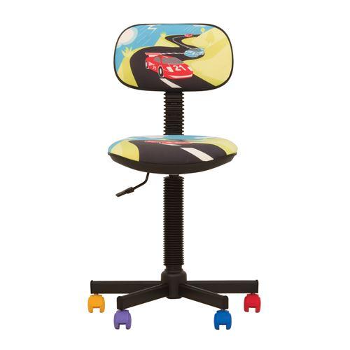 Bambo turbo- chaise de bureau pour enfant tissu multicolore