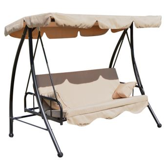 Balancelle lit de jardin convertible 2 places - Mobilier de Jardin ...