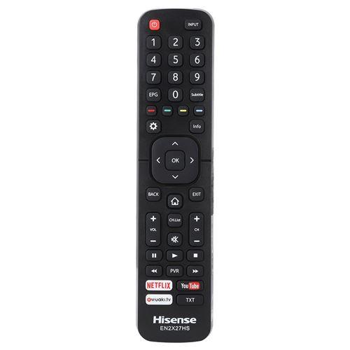 Télécommande de télévision universelle remplacement pour H-ISENSE EN2X27HS TV