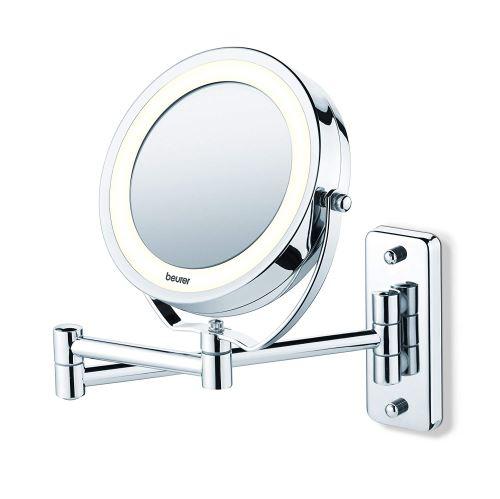 Miroir mural pour maquillage miroir grossissant éclairage LED Beurer BS 59