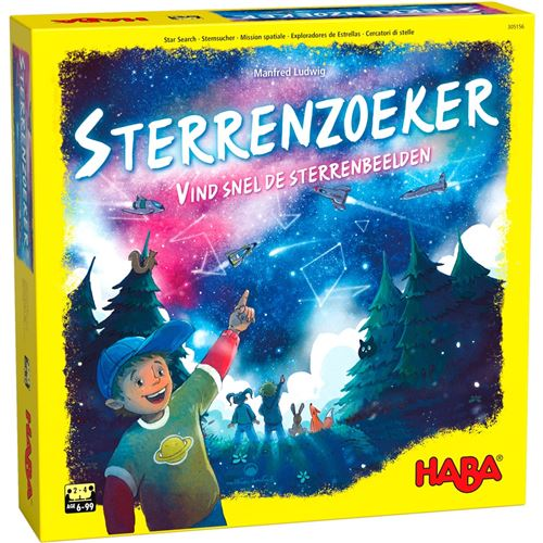 Haba jeu pour enfants (NLSterrenzoeker)
