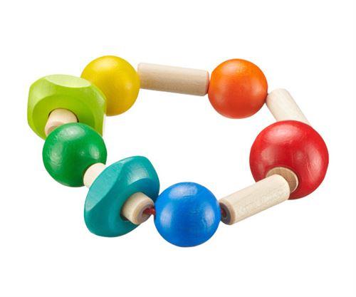 Selecta Spielzeug Rombinoanneau de préhension junior 9 cm en bois