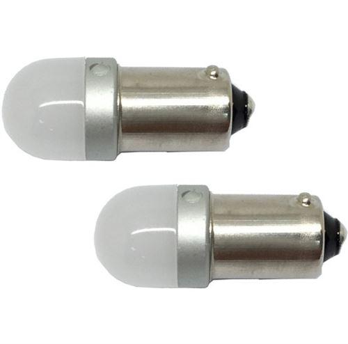 AutoStyle voiture ampoule led 12V T4W 1W 2 pièces blanches