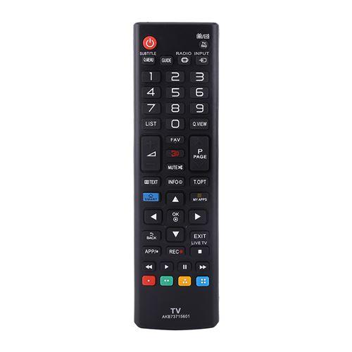 Télécommande AKB73715601 pour Smart TV LG - noir