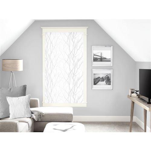 Brise bise 60x120 cm LIANE blanc, par Soleil d'ocre