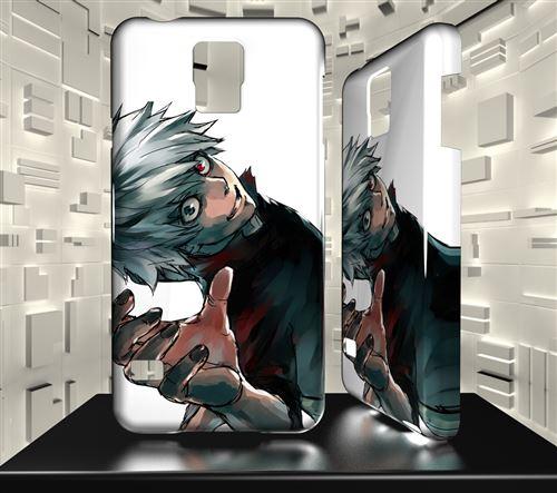 Coque Design Samsung Galaxy J3 (2017) MANGA Tokyo Ghoul Kaneki Ken 01