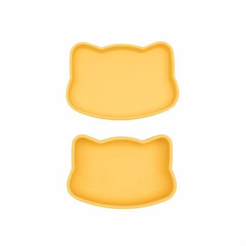 Petite boîte à goûter chat jaune - we might be tiny