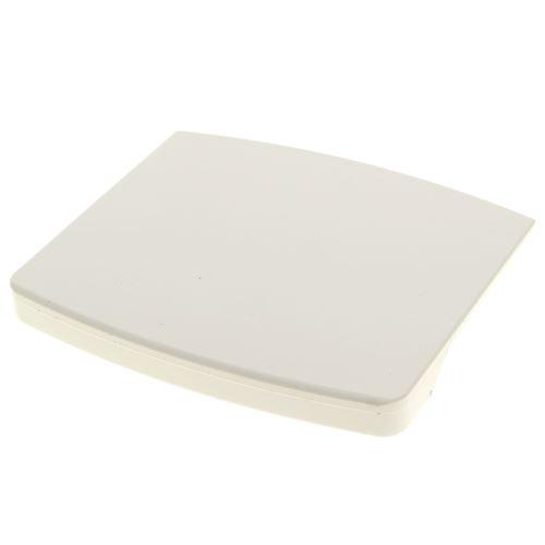Poignee de hublot blanche pour Lave-linge Laden, Lave-linge Whirlpool, Lave-linge Ignis